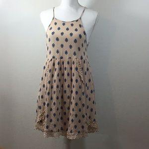 LA Hearts Pink Babydoll Dress Size Small
